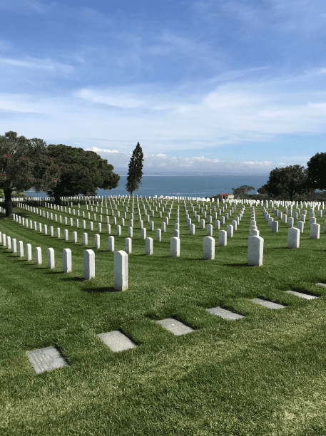 Photo: Fort Rosecrans National Cemetery, San Diego, California