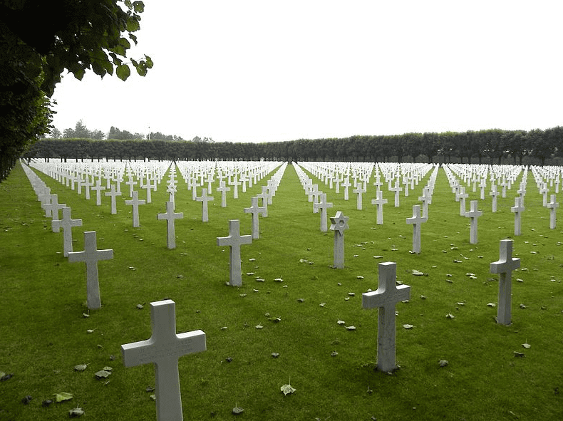 Photo: WWI Meuse-Argonne American Cemetery, France