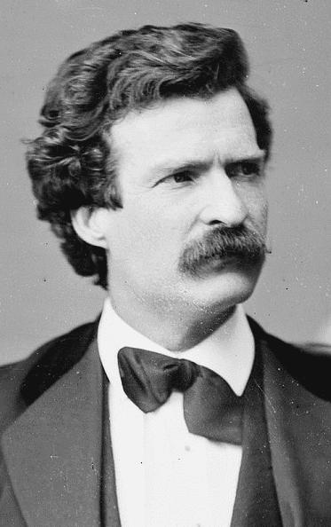 Photo: Mark Twain, by Mathew Brady, 7 February 1871