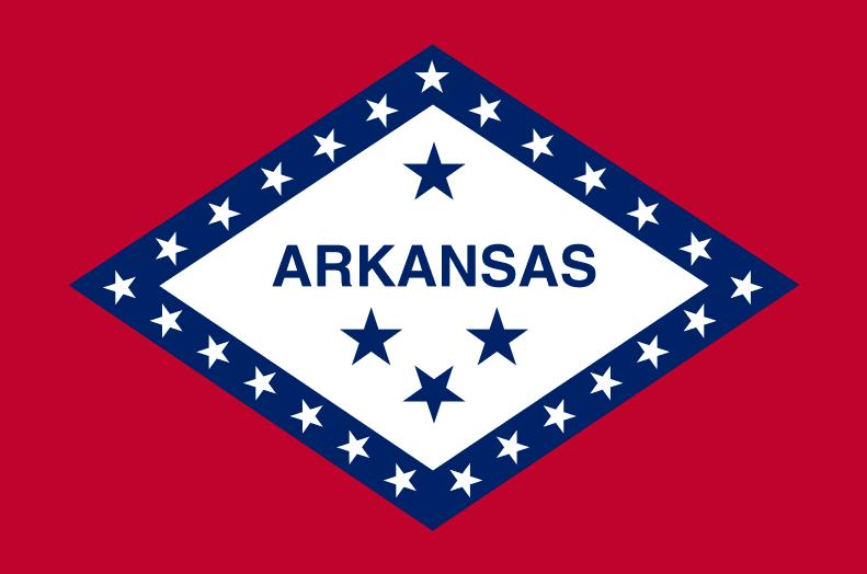 Illustration: Arkansas state flag