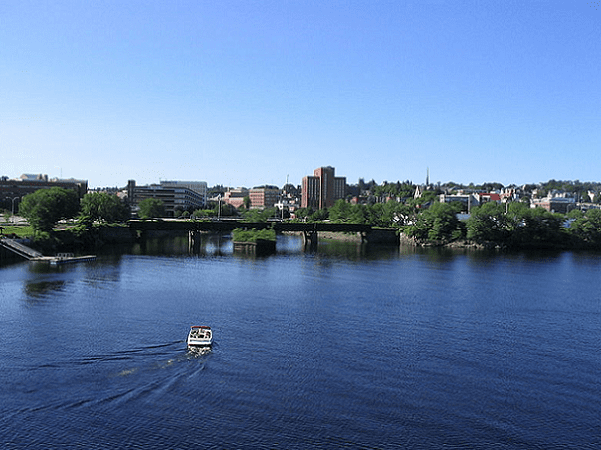 Photo: Bangor, Maine. Credit: GambitMG; Wikimedia Commons.