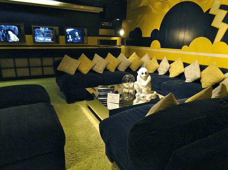 Photo: Graceland's TV room