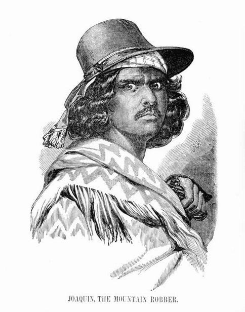 Illustration: Joaquin Murietta, by Charles Christian Nahl, c. 1851