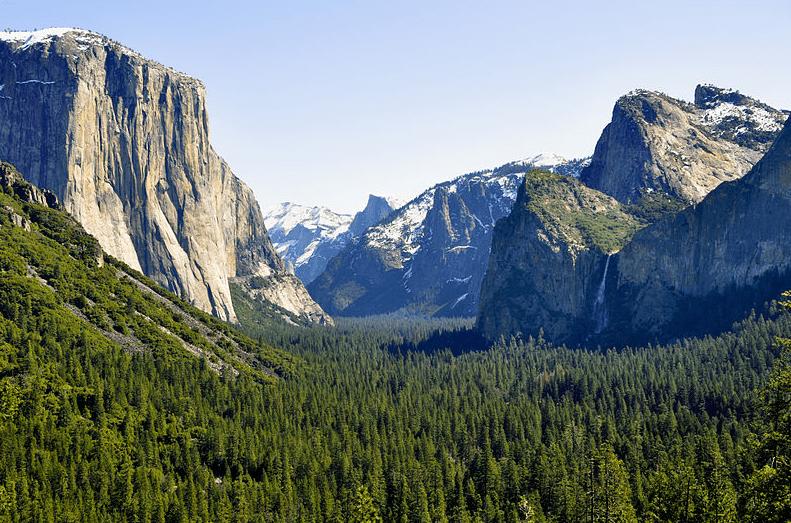 Photo: Yosemite Valley, California