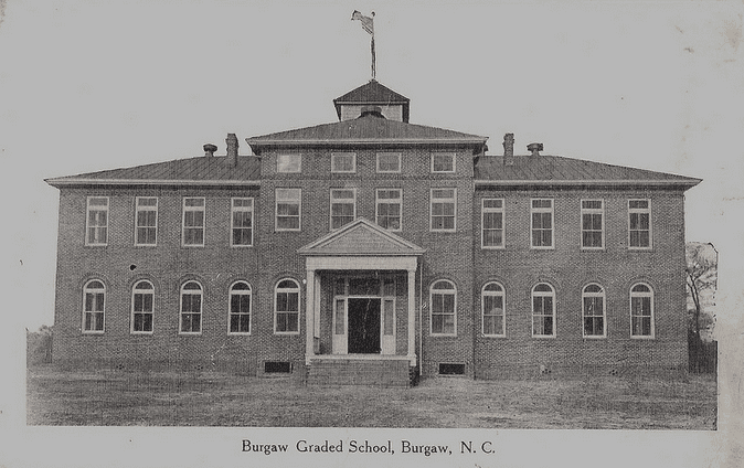 Photo: Burgaw School, Burgaw, North Carolina