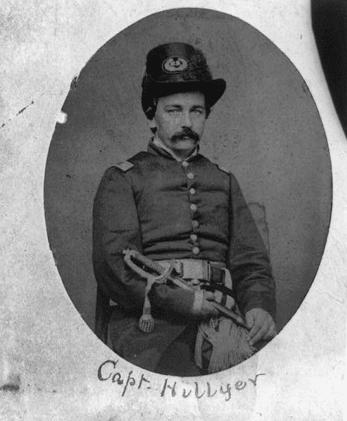 Photo: Union Captain William S. Hillyer, October 1861
