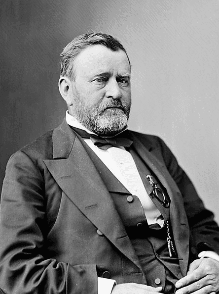 Photo: the 18th President of the United States Ulysses S. Grant