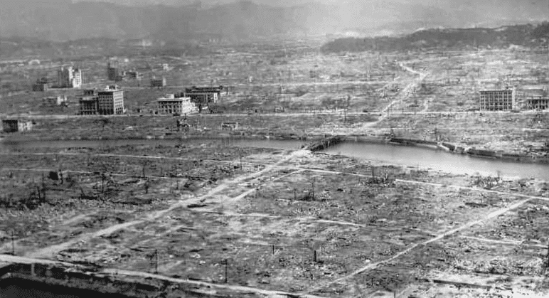 Photo: Hiroshima in the aftermath of the atomic bombing