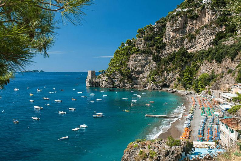 Photo: Fornillo Beach in Positano, Amalfi Coast, Italy