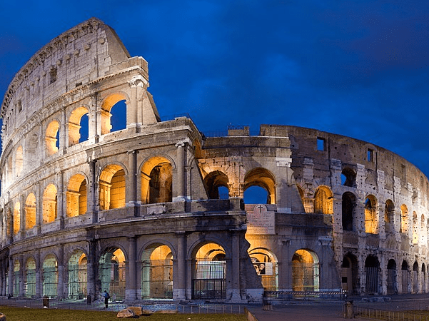 Photo: the Colosseum in Rome, Italy, built c. 70–80 AD. Credit: Diliff; Wikimedia Commons.
