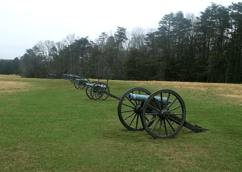 Photo: Stonewall Jackson's cannons on Henry House Hill