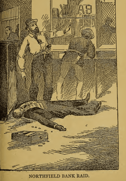 "Illustration: image from page 120 of ""Jesse James and his Band of Notorious Outlaws"" by Gordon, Welche (1891)"