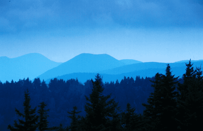 Photo: Shining Rock Wilderness Area, Blue Ridge Mountains, North Carolina