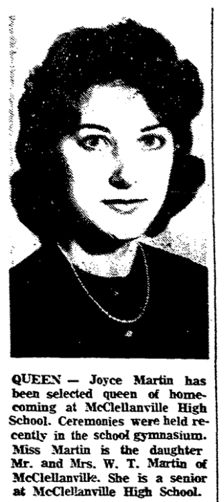 An article about homecoming, Charleston News and Courier newspaper article 30 December 1960