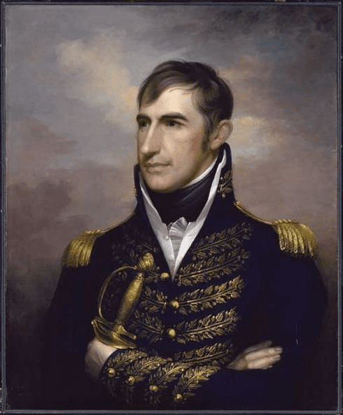 Illustration: William Henry Harrison, by Rembrandt Peale, c. 1813