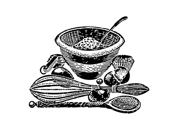 Illustration: cooking utensils