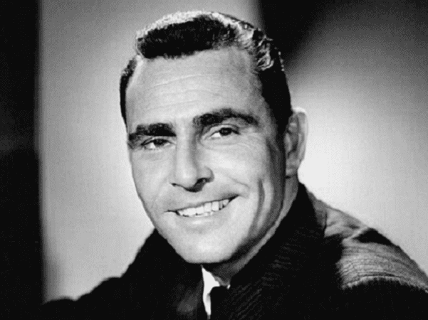 Photo: Rod Serling. Credit: Gabor Rona; Wikimedia Commons.