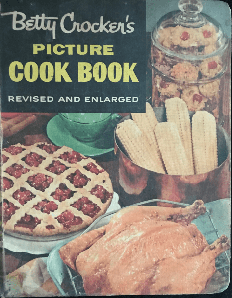 """Photo: cover of """"Betty Crocker's Picture Cook Book"""""""