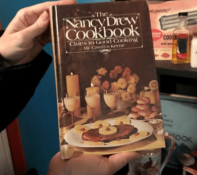 "Photo: cover of ""The Nancy Drew Cookbook"""