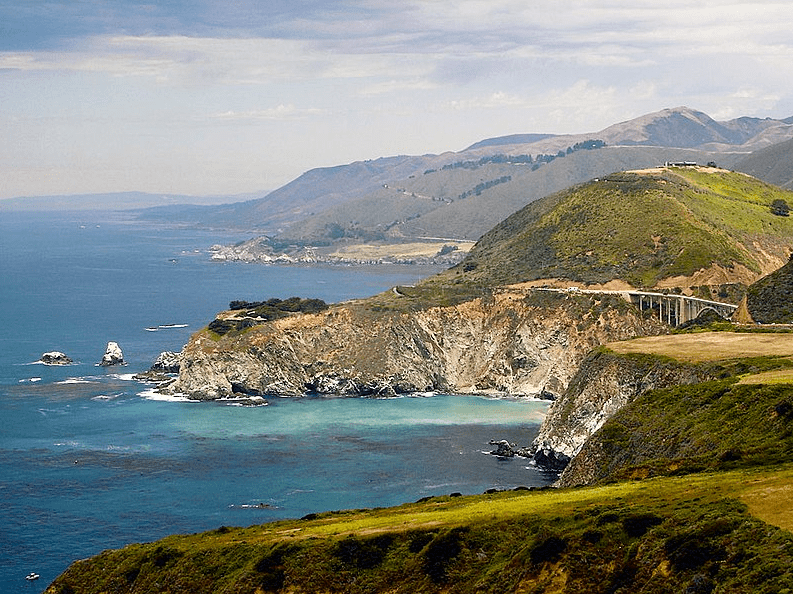 Photo: Big Sur coast, including the Bixby bridge, California