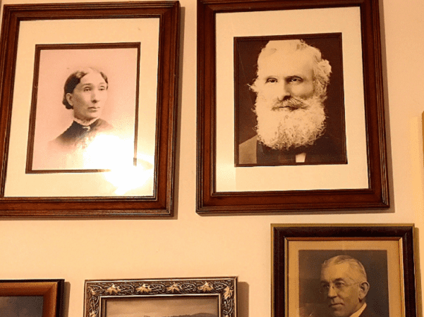 Photo: pictures of some of Thomas Jay Kemp's ancestors