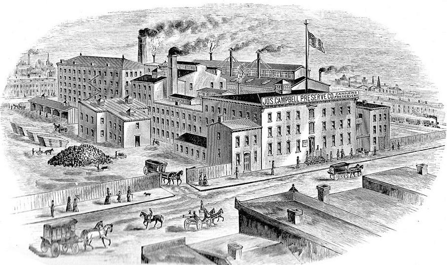 Illustration: the Joseph Campbell Preserve Co., Camden, New Jersey, 1894