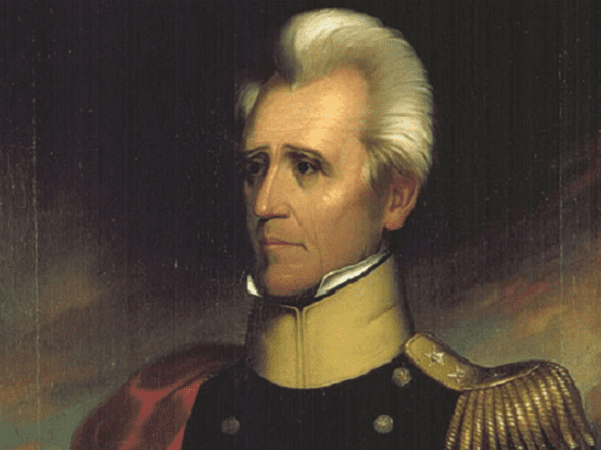 Illustration: portrait of Andrew Jackson by Ralph E. W. Earl, c. 1837. Credit: Tennessee Portrait Project; Wikimedia Commons.