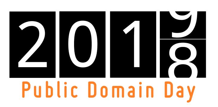 Photo: Public Domain Day 2019 logo