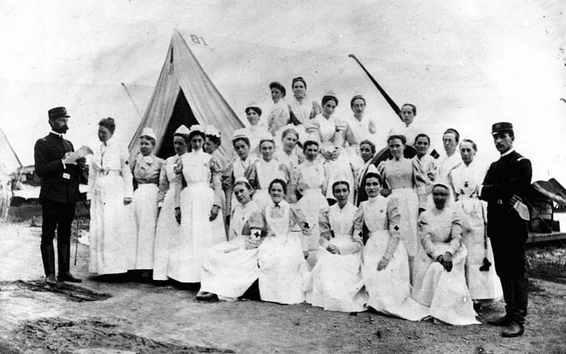 Photo: Union nurses during the Civil War, 4 January 1862