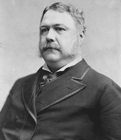 Photo: President Chester Arthur, 1882