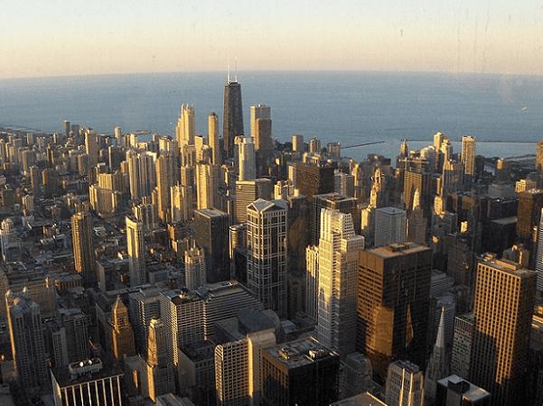Photo: Chicago, Illinois. Credit: Adrian104; Wikimedia Commons.