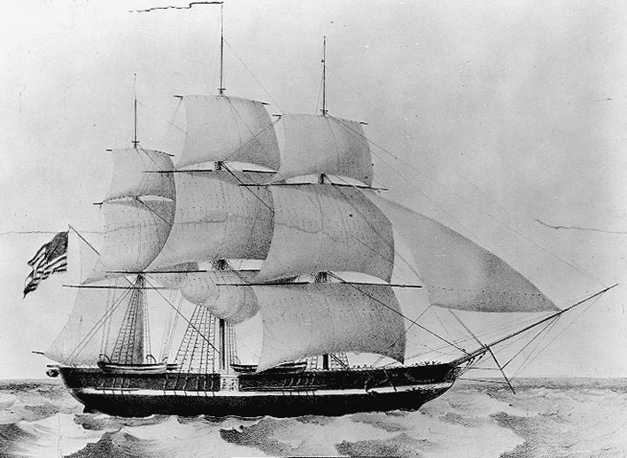Illustration: USS Princeton (1843)