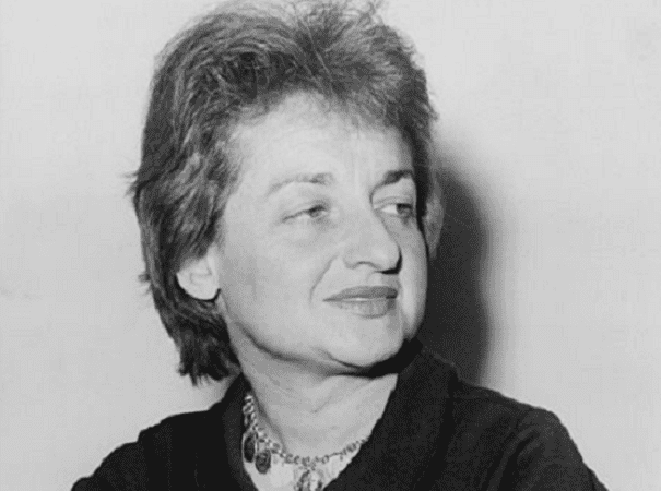 Photo: Betty Friedan, American feminist and writer, 1960. Credit: Fred Palumbo, New York World-Telegram & Sun; Library of Congress, Prints and Photographs Division.