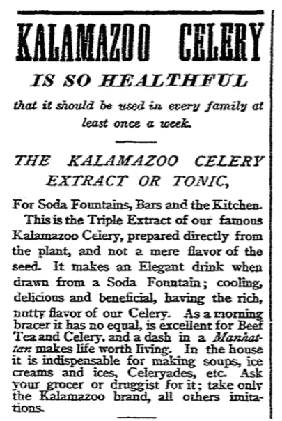 An ad for celery tonic, Boston Herald newspaper advertisement 26 March 1893