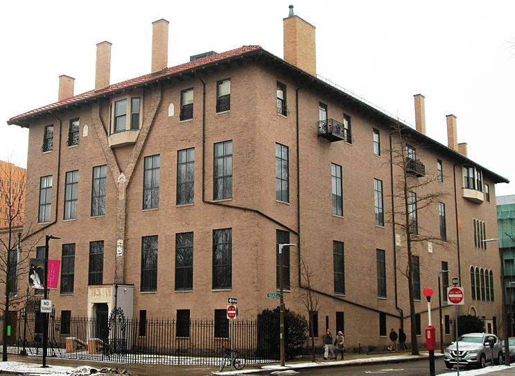 """Photo: the original building of the Isabella Stewart Gardner Museum, called """"Fenway Court"""" when Gardner was alive"""