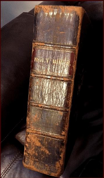 Photo: a Kemp family Bible