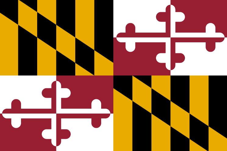 Illustration: Maryland state flag