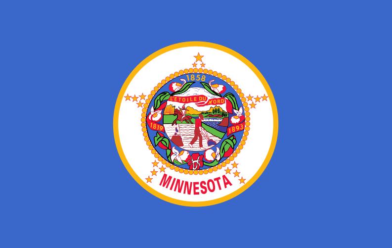 Illustration: Minnesota state flag