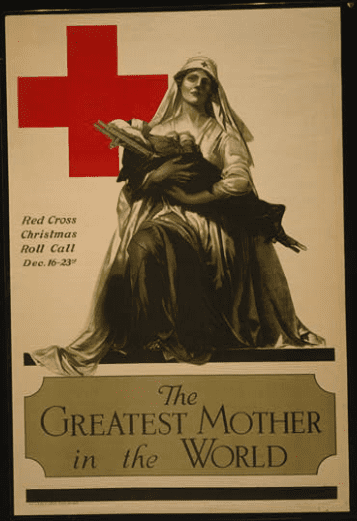 """Photo: """"The Greatest Mother in the World"""" – Red Cross Christmas roll call"""