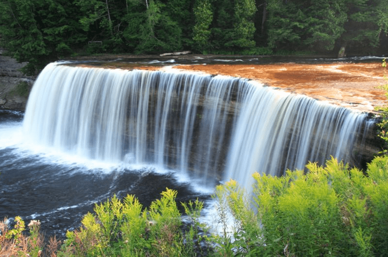 Photo: Upper Falls, Tahquamenon Falls State Park, Michigan