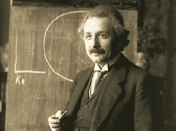 Photo: Albert Einstein during a lecture in Vienna in 1921. Credit: Ferdinand Schmutzer; Wikimedia Commons.