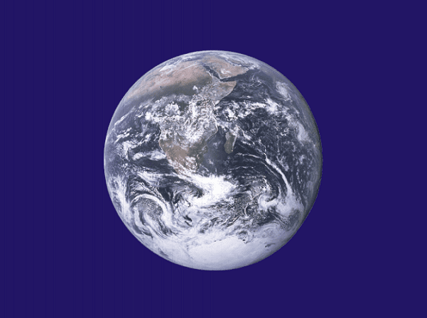Photo: Earth Day flag. Credit: John McConnell (flag designer) and NASA (Earth photograph); Wikimedia Commons.