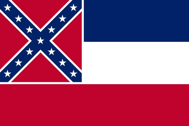 Illustration: Mississippi state flag