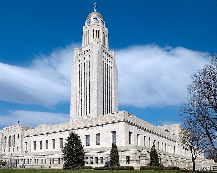 Photo: Nebraska State Capitol, Lincoln, Nebraska