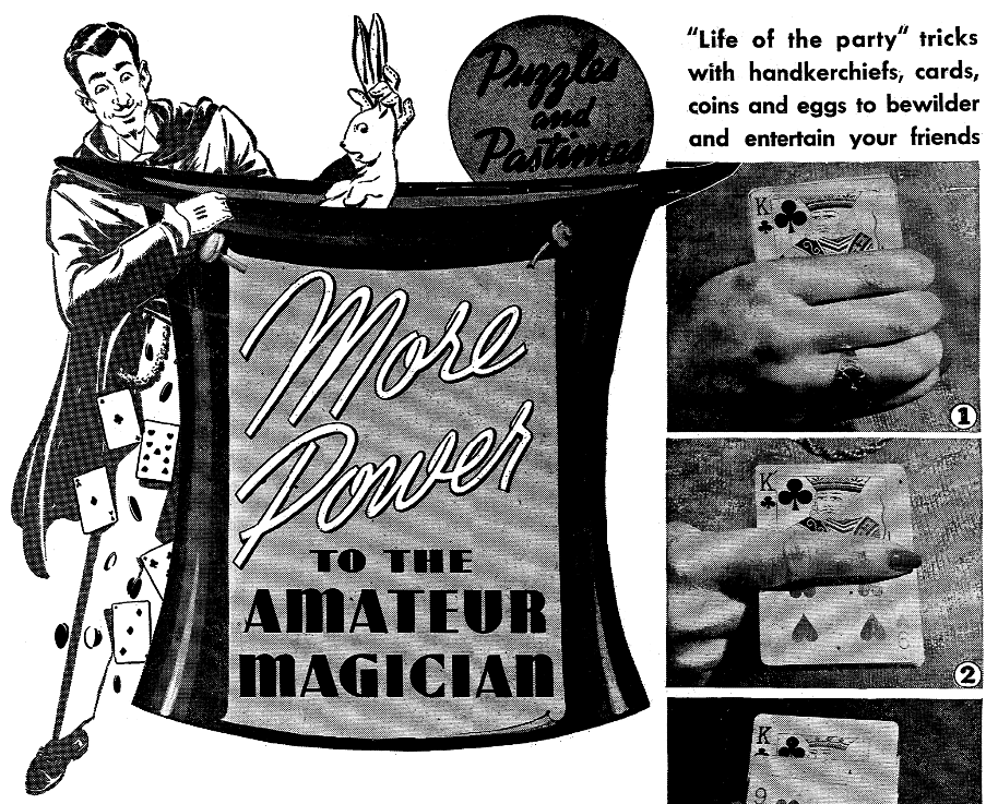 An article about magic tricks,