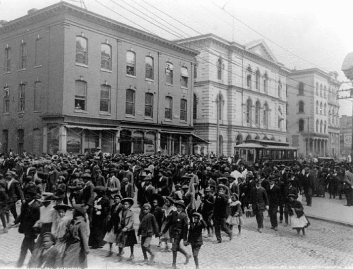 Photo: Emancipation Day celebration in Richmond, Virginia, c. 1905