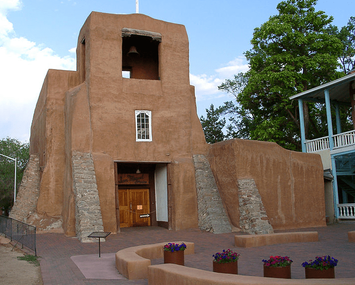 Photo: San Miguel Chapel, built in 1610 in Santa Fe, New Mexico, is the oldest church structure in the U.S.