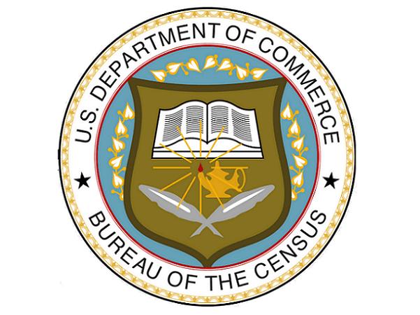 Illustration: Seal of the United States Bureau of the Census. Credit: United States Bureau of the Census; Wikimedia Commons.