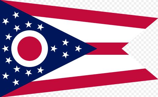 Illustration: Ohio state flag