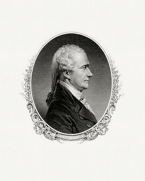 Illustration: Secretary of the Treasury Alexander Hamilton